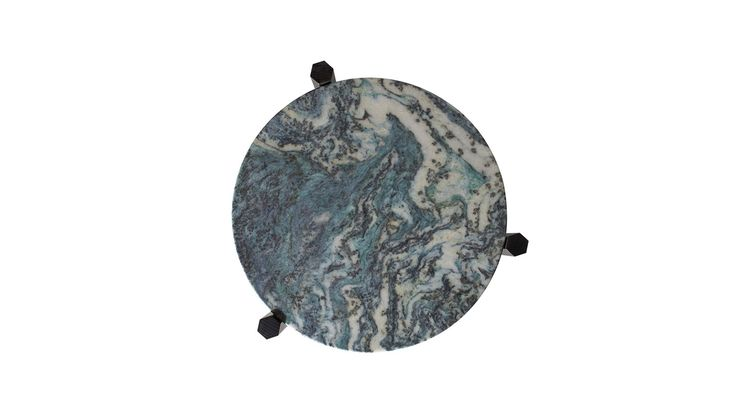 Zuster Zuster Furniture Tribute Round Marble Coffee Table