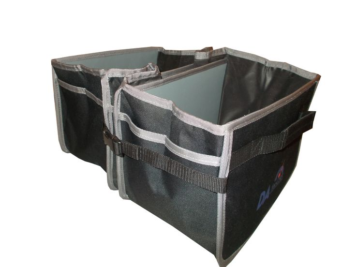 When you need just 2 compartments, you can use these handy clips. This Trunk Organizer Cooler has 3 compartments. http://www.amazon.com/Trunk-Organizer-Cooler-Isolating-Collapsible/dp/B01BLSINZ8 www.daforcar.com
