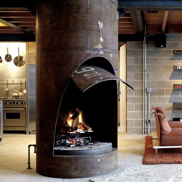 + Fireplace ... | Photo Tom Kundig Houses