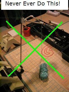 Superba Knitting™: Yarn Winder Tutorial For Home Knitting Machines: How To Wind Hand Knitting Yarn Into Centre Pull Balls & Mini Cones. ©