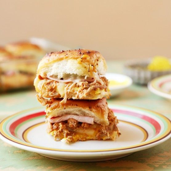 ... hot-pressed Cuban sandwich. Serve them as an appetizer or as main-dish