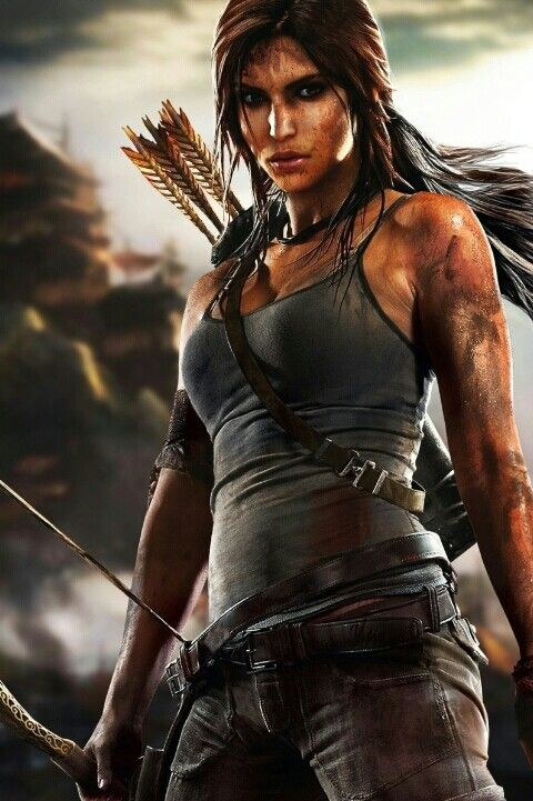 Lara Croft--never played the game and the movie was meh but something about this character is really inspiring to me.