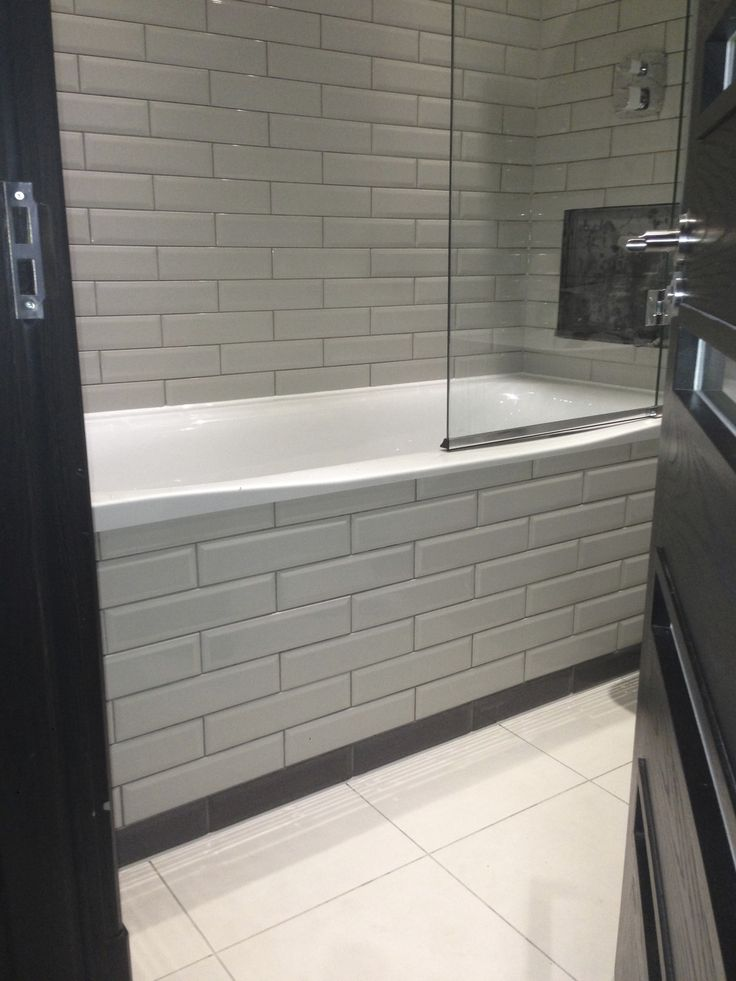 A Tiled Bath Panel Bathroom Tiles Pinterest And Tiling