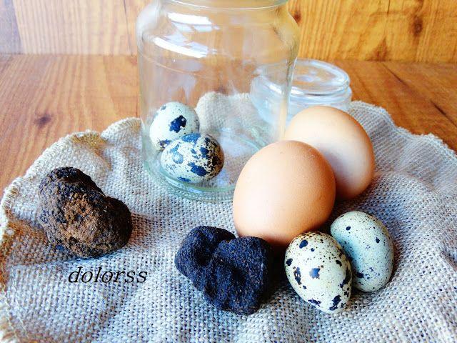 Blog de cuina de la dolorss: Cómo hacer huevos trufados