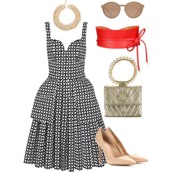 Pearls... polyvore