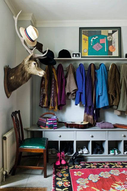 Ideal boot room storage