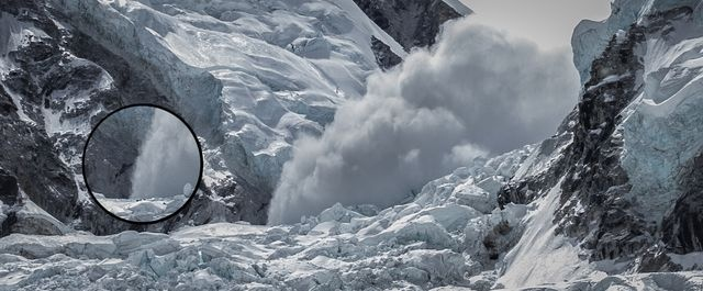 Grayson reports on the April 27 #Everest avalanche.: Everest Avalanche, 27 Everest, Grayson Reports, April 27