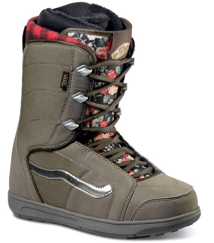 2016 NIB WOMENS VANS HI STANDARD SNOWBOARD BOOTS $180 8 hana floral thermal in Sporting Goods, Winter Sports, Snowboarding | eBay