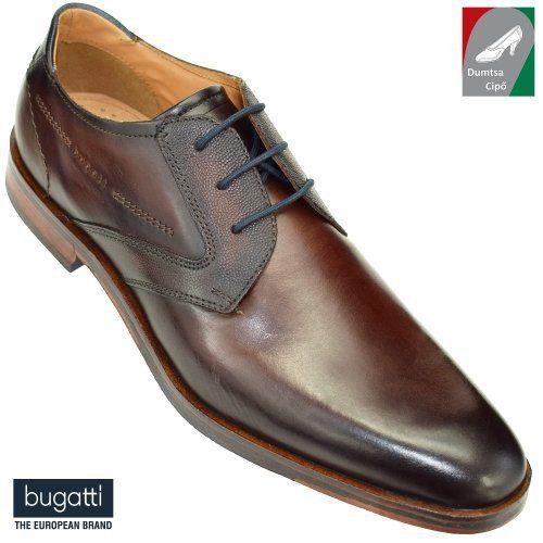 Bugatti férfi bőr cipő 312-29604-1100-6000 barna