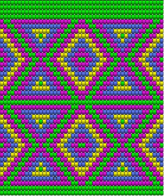 Indians cross stitch.