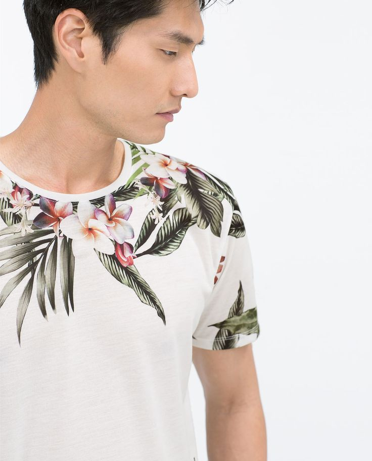 Image 4 of FLOWERS T-SHIRT from Zara