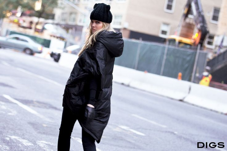 DIGS Mejeve Puffer #fashion #style #streetstyle