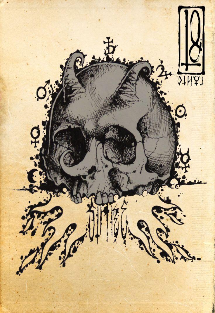 skull sinke