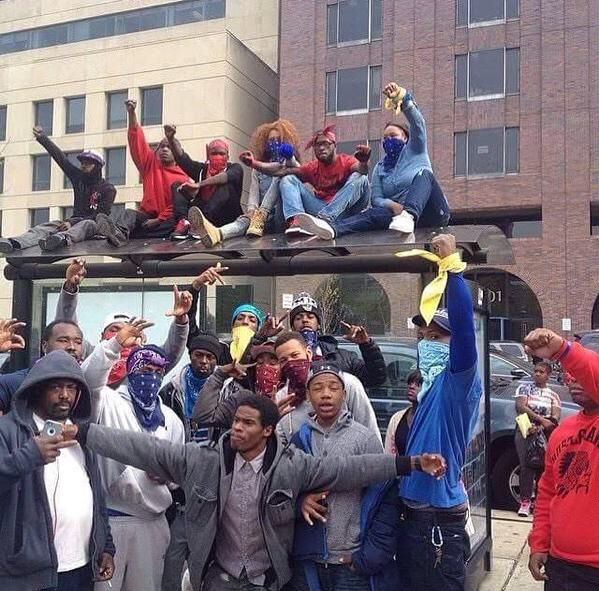Bloods and Crips gang members squash beef in Baltimore in ...