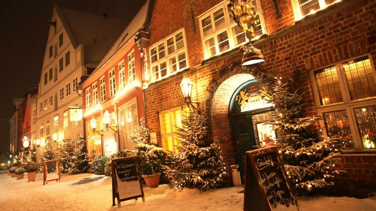 Winter in Lüneburg