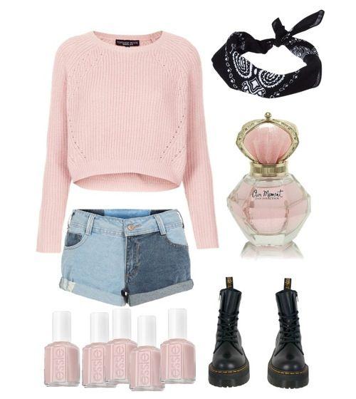 Zorg deze Lente voor frisse en zachte kleuren zoals: appelblauw-zeegroen en roos heel licht roos zoals op de foto!!! en mooie zwarte of bruine botjes met een mooi blauw jeans kort boekje en een mooie stoere haar band en frisse geur met roze nagellak of appelblauw-zeegroen!!