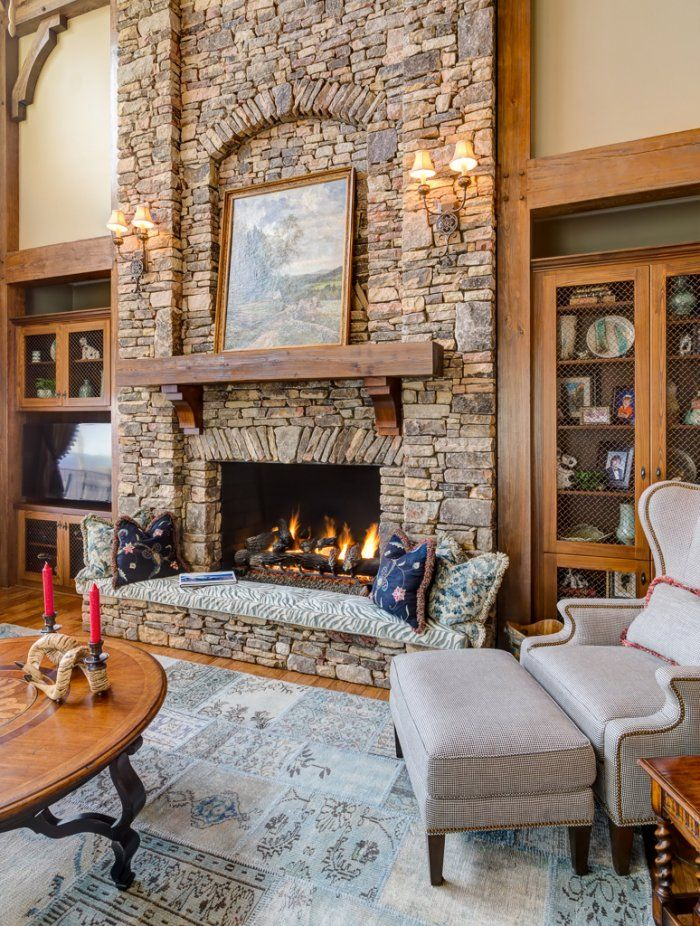hearth height without ugly pillow fireplaces