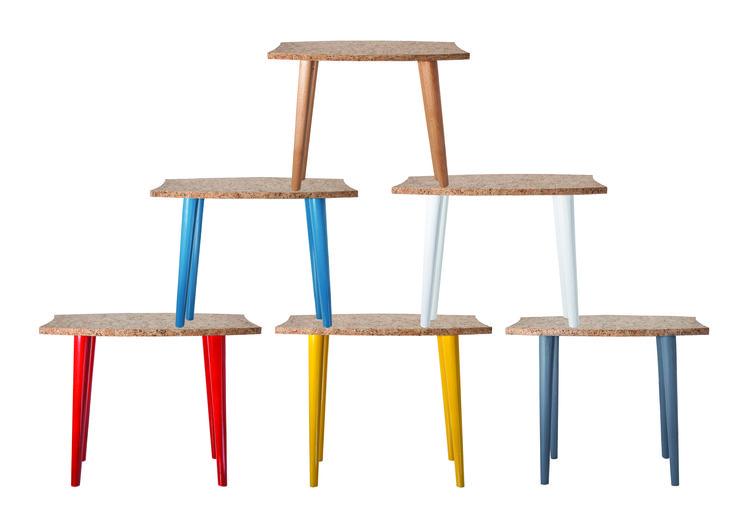 CCK-010  Table d'appoint Bois/Liége  Side table  Wood/Cork Info@creative-cork.com #cortiça#cork#liege#kork#design#furniture#meubles#ecologic#