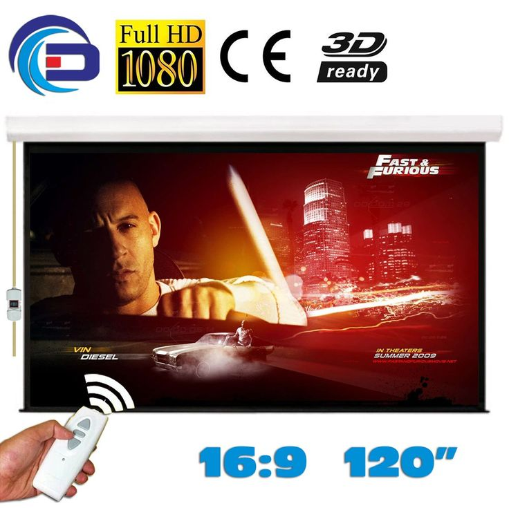 120 inches 16:9 Electric Projection Screen Matt White pantalla proyeccion for LED LCD HD Movie Motorized Projector Screen     Tag a friend who would love this!     FREE Shipping Worldwide     {Get it here ---> https://swixelectronics.com/product/120-inches-169-electric-projection-screen-matt-white-pantalla-proyeccion-for-led-lcd-hd-movie-motorized-projector-screen/ | Buy one here---> WWW.swixelectronics.com