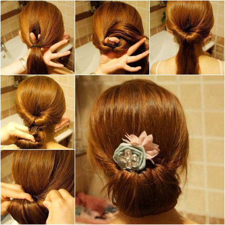 Easy Hairstyles For Short Hair To Do At Home Inspiration 64 Best Hair Images On Pinterest  Wedding Hair Styles Bridal