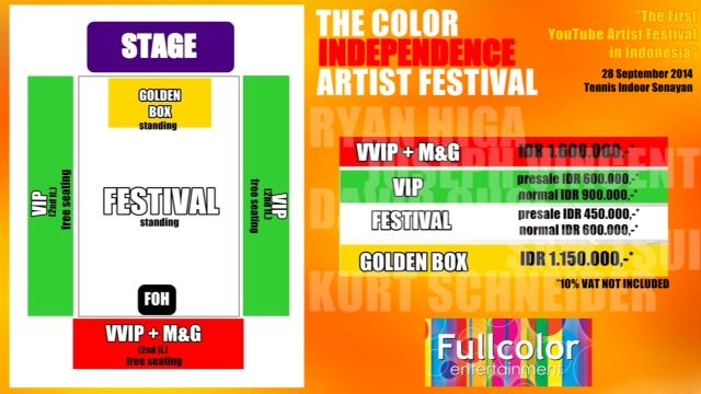 The-Color'sIndependent-LAYOUT Buy Ticket Clik: ww.ticketonfire.com Tlp : + 62 2132757577