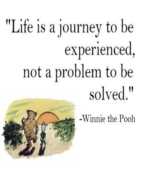 Life Is A Journey - Life Quote