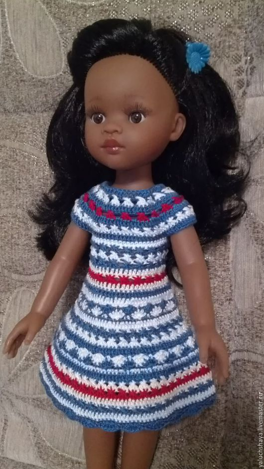 Одежда для кукол ручной работы. Ярмарка Мастеров - ручная работа. Купить Платья для кукол Паола Рейна 32 см. Handmade.