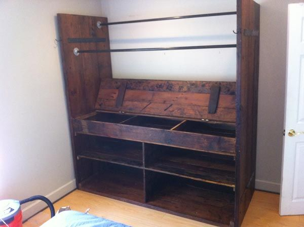 War Horse Furniture Reclaimed Stand Alone Closet