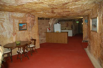 Coober Pedy, South Australia  Would be weird to have everything underground though with no windows
