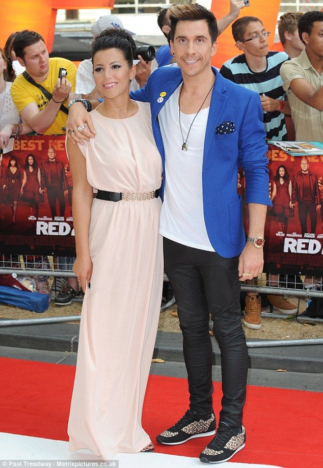 7-22-13.  Date night: Comedian Russell Kane attended the premiere with fiancée Lindsey Cole