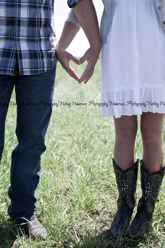 Hailey Haberman Photography: Engagements    #western ,#cowboy boots, #cowgirl boots