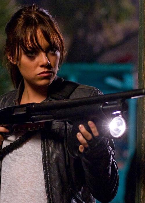 Emma Stone- the amazing spiderman, easy A, marmaduke, & Zombieland