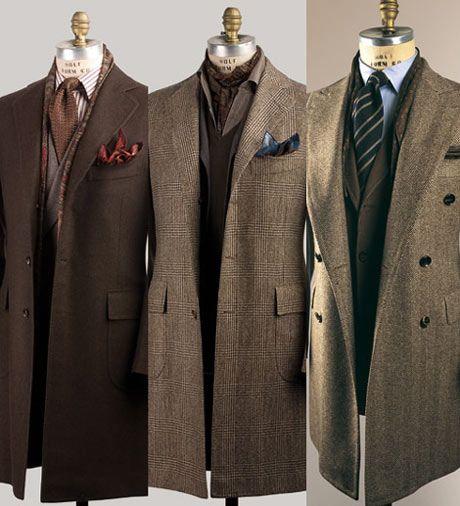 Men's Long Overcoat Sale | Home / Bespoke Overcoat (Men's)