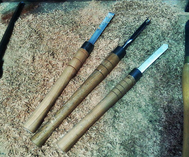 Rehandling Woodworking Lathe Chisels