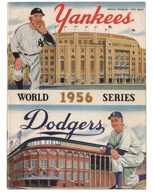 1956 World Series: Brooklyn Dodgers vs. New York Yankees, Game 5  Cover Art