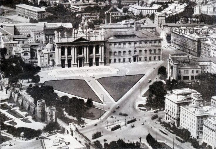 Basilica di San Giovanni in Laterano 1941/1942