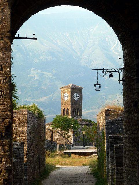 Gjirokastra, Albania.