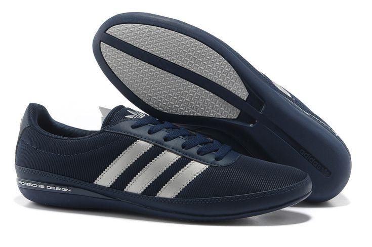Online Adidas Originals Porsche Design Breathable Shoes Men Blue White AZ52203