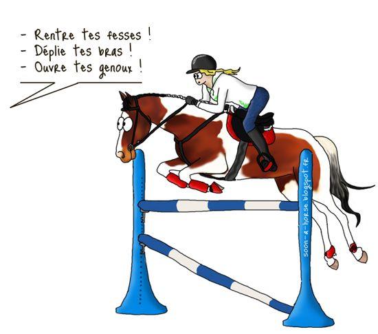 Soon a horse: Exercice : la ligne de complet   Chevaux drôles, Meme de cheval et Humour cheval