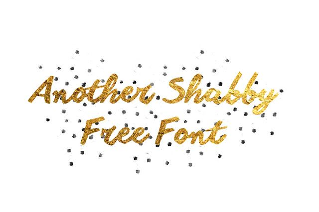DLOLLEYS HELP: Another Shabby Free Font