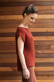 Constructed side to side, this unique pullover is knit in a simple rib stitch that provides luxurious stretch and drape. No. 21's slightly lengthened back gives it an of-the-moment silhouette. Staccato held double creates a rich fabric with a silken sheen.