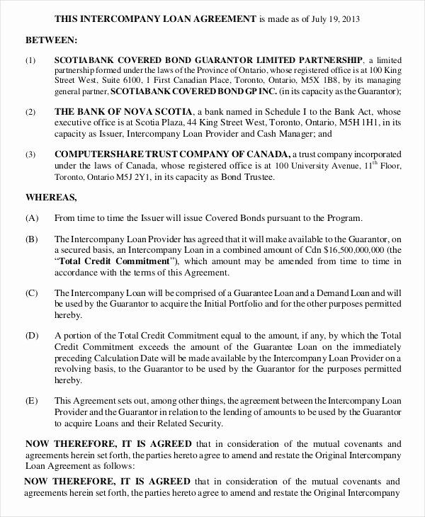 Business Loan Agreement Template Luxury Loan Agreement Template 19 Free Word Pdf Format Contract Template Agreement Business Loans