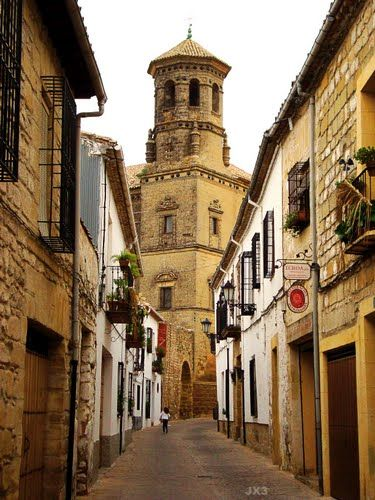 Baeza. Jaén I lived here for a month, living in a convent, while attending Spanish classes.