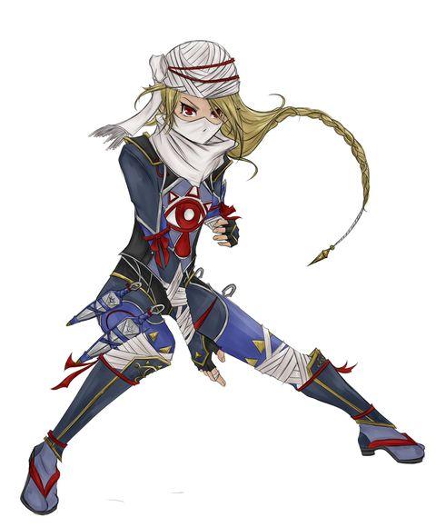 sheik | legend of zelda.