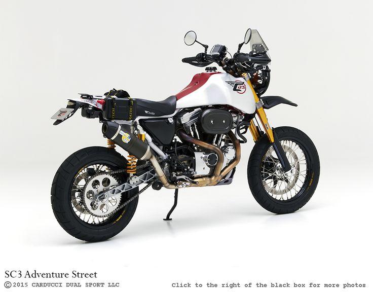 SC3 Adventure Street dual sport motorcycle by Carducci Dual Sport