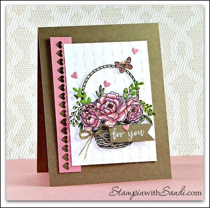 Обшить открытку нитками