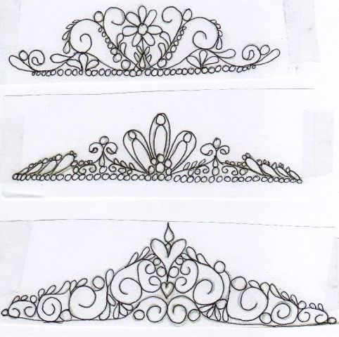Tiaras Patterns