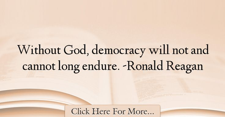 Ronald Reagan Quotes About God - 27877