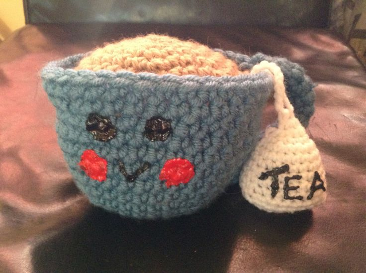A personal favorite from my Etsy shop https://www.etsy.com/ca/listing/462083789/happy-little-tea-cup