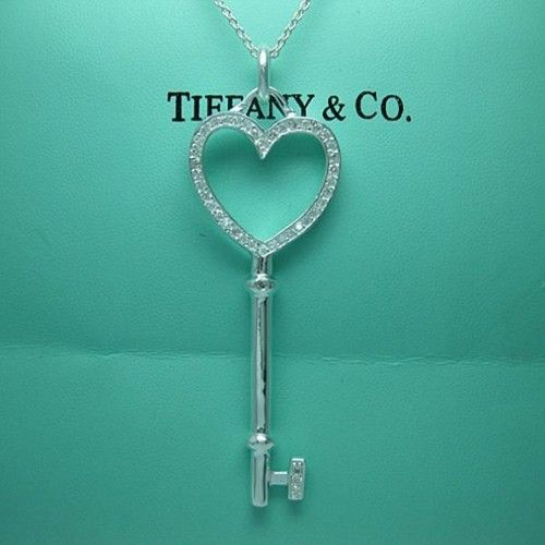 Tiffany Heart Key Necklace Accessories Pinterest